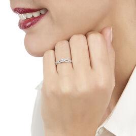 Bague Solitaire Livia Or Blanc Diamant - Bagues solitaires Femme | Histoire d'Or