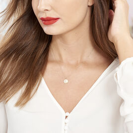 Collier Or Jaune Flauriane Oxyde - Colliers Lune Femme | Histoire d'Or