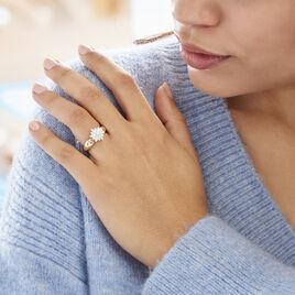 Bague Rasha Or Jaune Diamant - Bagues avec pierre Femme | Histoire d'Or