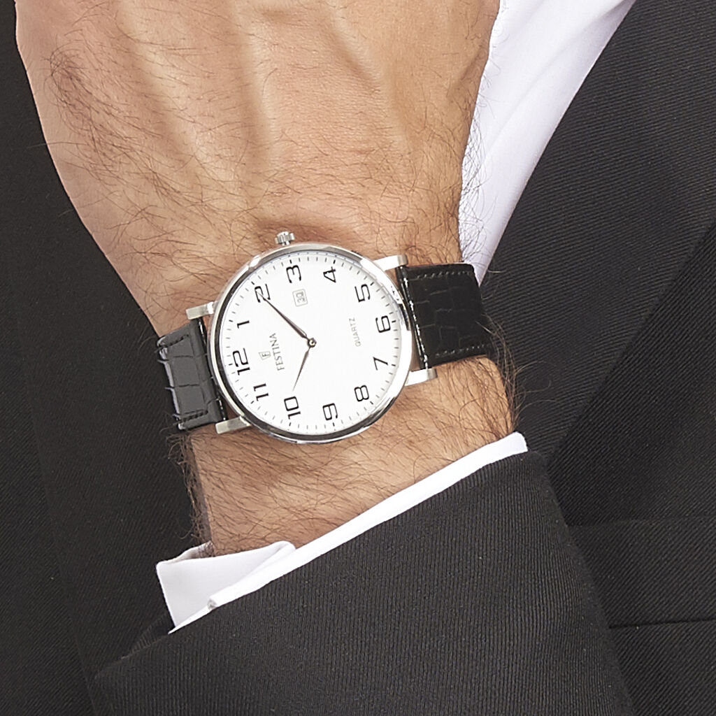 Montre Festina Classics Blanc - Montres classiques Homme | Histoire d'Or