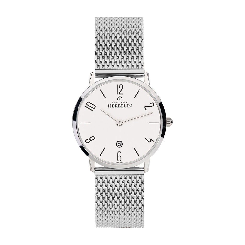 Montre Michel Herbelin City Argent