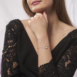 Bracelet Marthe Argent Blanc Perle De Culture Et Oxyde De Zirconium - Bracelets fantaisie Femme | Histoire d'Or
