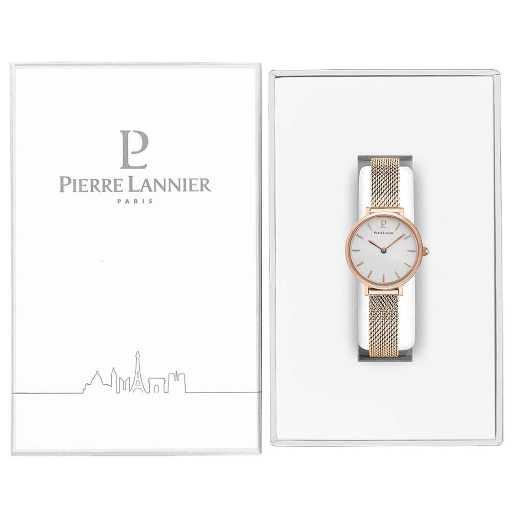Montre Pierre Lannier Nova Blanc - Montres classiques Femme | Histoire d'Or