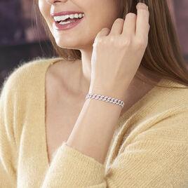 Bracelet Renelle Argent Blanc Oxyde De Zirconium - Bijoux Femme | Histoire d'Or