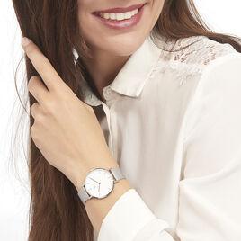Montre Daniel Wellington Classic Petite Sterling Blanc - Montres tendances Femme | Histoire d'Or