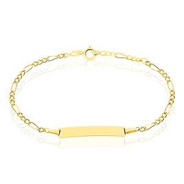 Bracelet Identite Bebe Or Jaune Erell - Bracelets Communion Enfant | Histoire d'Or