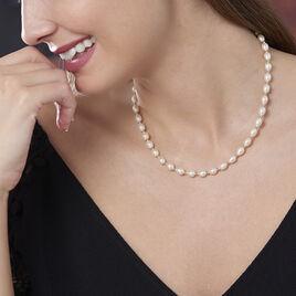 Collier Marame Or Jaune Perle De Culture - Bijoux Femme | Histoire d'Or