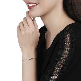 Bracelet Lilybeth Or Blanc Diamant - Bijoux Femme | Histoire d'Or