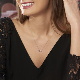 Collier Chacha Or Jaune Infini Diamants - Colliers Infini Femme | Histoire d'Or