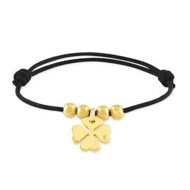 Bracelet Ramyaae Plaque Or Jaune Diamant - Bracelets Trèfle Femme | Histoire d'Or