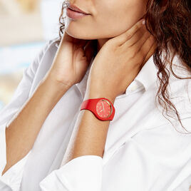 Montre Ice Watch Glam Rouge - Montres Femme   Histoire d'Or