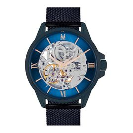 Montre Montignac S Automatique Bleu - Montres automatiques Homme   Histoire d'Or