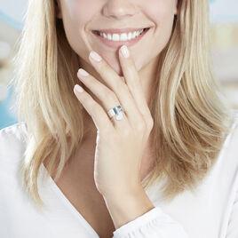 Bague Ayna Argent Blanc - Bagues Coeur Femme | Histoire d'Or