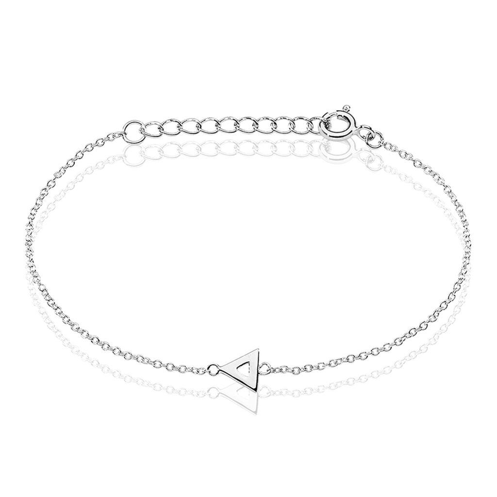 Bracelet Severine Argent Blanc - Bracelets fantaisie Femme | Histoire d'Or