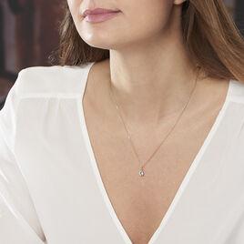 Collier Or Et Topaze  - Bijoux Femme | Histoire d'Or