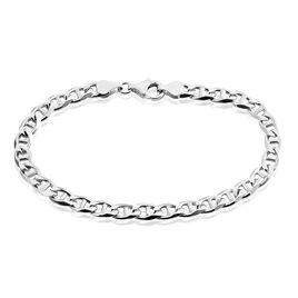 Bracelet Piato Marine Argent Blanc - Bracelets chaîne Homme   Histoire d'Or
