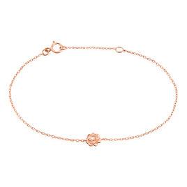 Bracelet Jannea Argent Rose Oxyde De Zirconium - Bracelets fantaisie Femme | Histoire d'Or