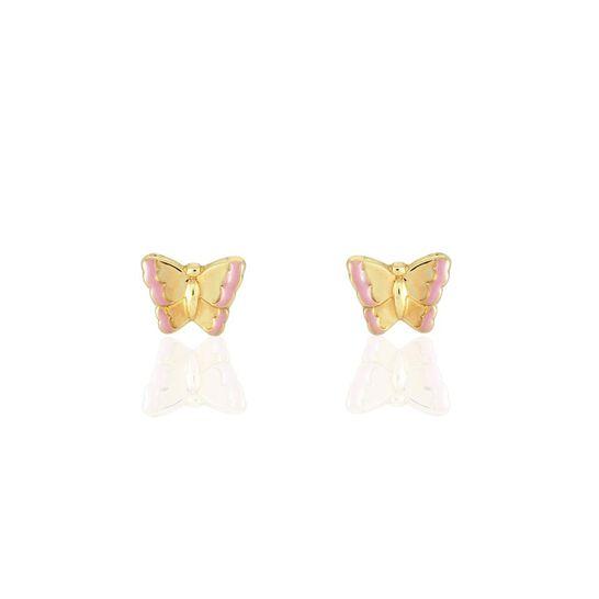 1 paire de boucles d/'oreilles papillon drôles personnalisées en métal pour femme