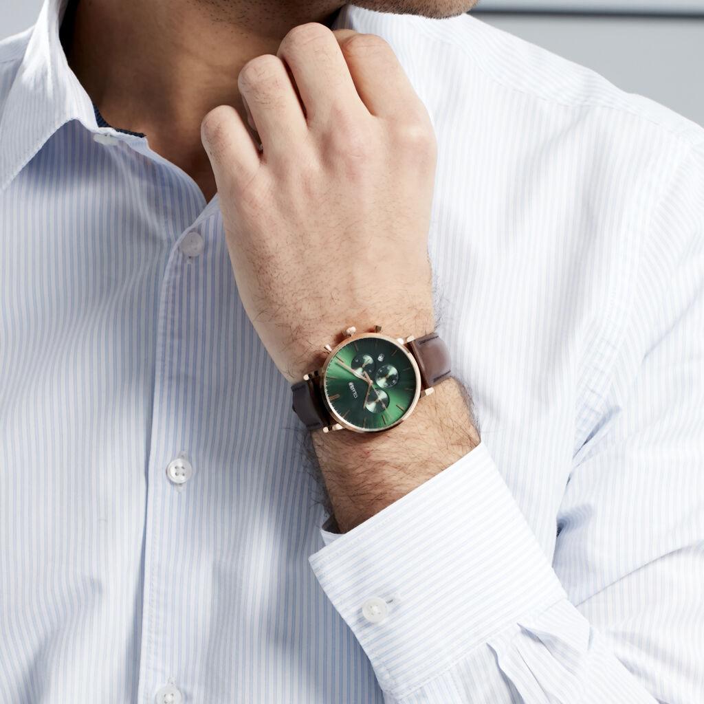 Montre Cluse Aravis Vert - Montres Homme   Histoire d'Or