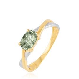 Bague Emeline Or Bicolore Amethyste - Bagues avec pierre Femme | Histoire d'Or