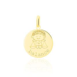 Pendentif Jannila Zodiaque Or Jaune - Naissance Enfant | Histoire d'Or