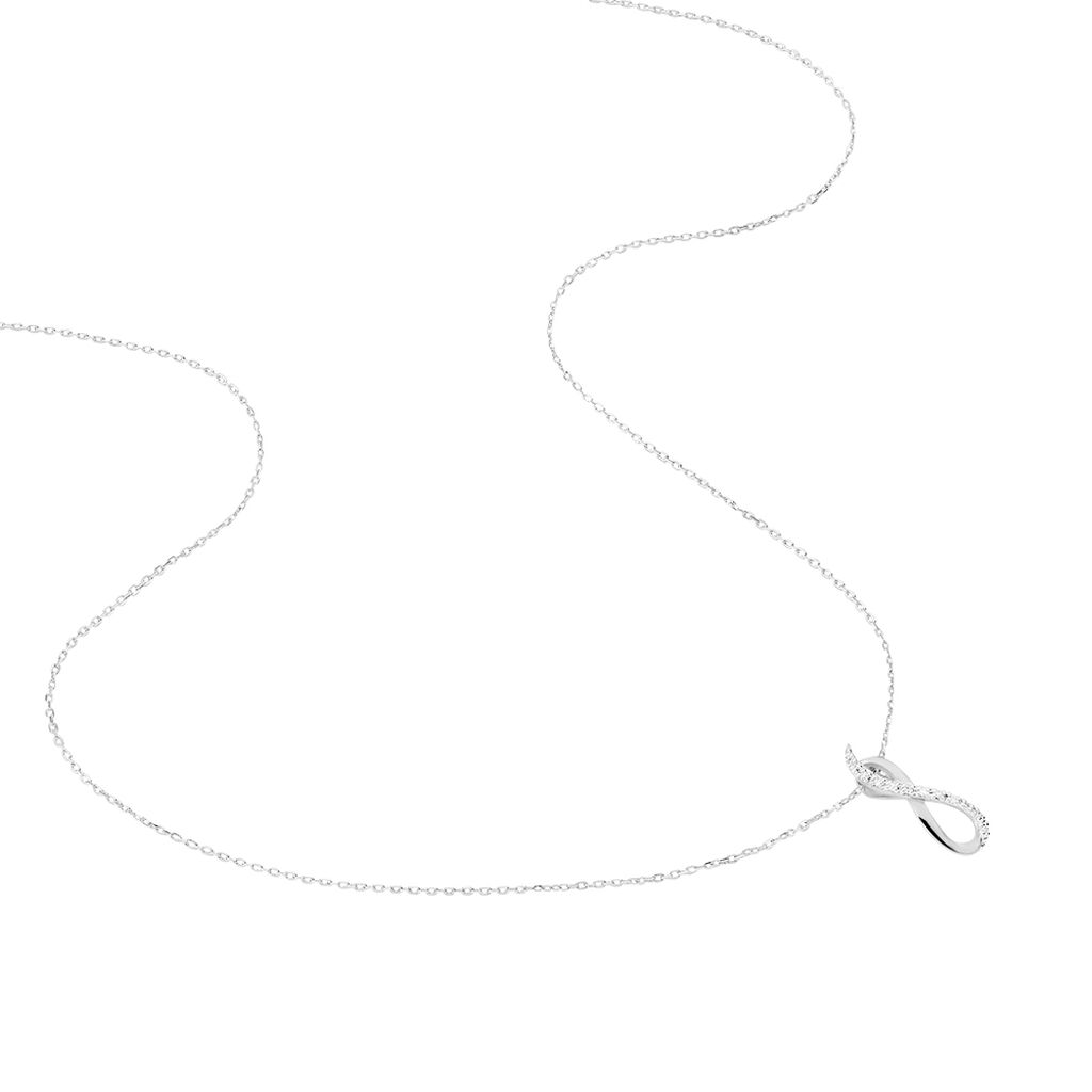 Collier Osanna Or Blanc Diamant