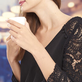 Bracelet Celene Or Rose - Bijoux Femme | Histoire d'Or