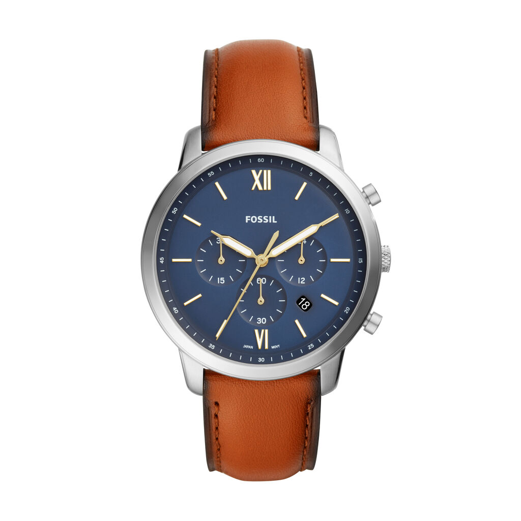 Montre Fossil Neutra Chrono Bleu