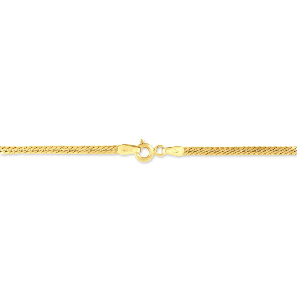 Bracelet Izel Maille Anglaise Or Jaune - Bracelets chaîne Femme | Histoire d'Or