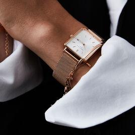 Montre Rosefield The Boxy Blanc - Montres tendances Femme | Histoire d'Or