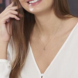 Collier Goccie Or Jaune Et Diamants 42cm - Bijoux Femme | Histoire d'Or