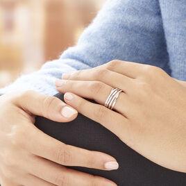 Bague Marinetta Or Blanc Diamant - Bagues avec pierre Femme | Histoire d'Or