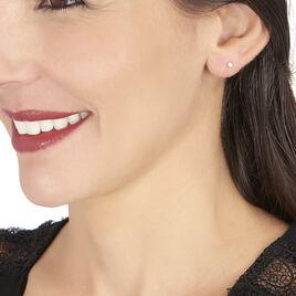 Boucles D'oreilles Puces Victoria Or Jaune Diamant - Clous d'oreilles Femme | Histoire d'Or