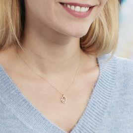 Collier Megan Or Jaune Diamant - Bijoux Femme   Histoire d'Or