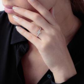 Bague Anne-christelle Or Jaune Oxyde De Zirconium - Bagues solitaires Femme | Histoire d'Or