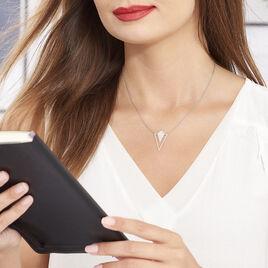 Collier Tylee Argent Blanc - Colliers fantaisie Femme | Histoire d'Or
