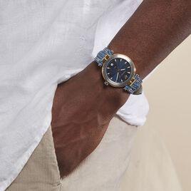 Montre Michel Herbelin Newport Bleu - Montres classiques Homme   Histoire d'Or