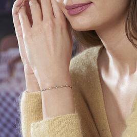 Bracelet Izar Torsadee Or Bicolore - Bijoux Femme | Histoire d'Or