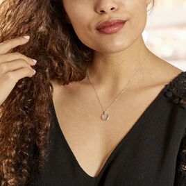 Collier Humbertina Or Blanc Diamant - Bijoux Femme | Histoire d'Or