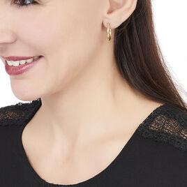 Créoles Youri Torsadees Or Jaune - Boucles d'oreilles créoles Femme | Histoire d'Or