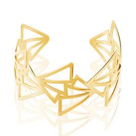 Bracelet Jonc Acier Jaune - Bracelets fantaisie Femme | Histoire d'Or