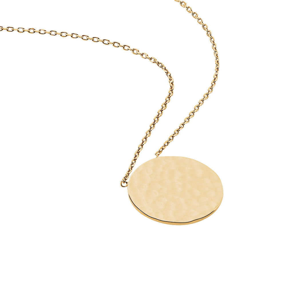 Collier Cecily Plaque Or Jaune - Colliers fantaisie Femme | Histoire d'Or