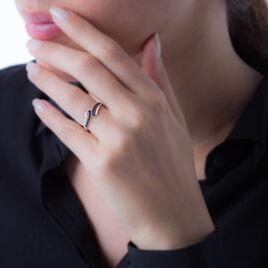Bague Shaela Or Blanc Saphir Et Diamant - Bagues avec pierre Femme | Histoire d'Or