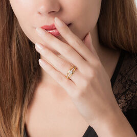 Bague Solitaire Anouska Or Jaune Diamant - Bagues solitaires Femme   Histoire d'Or