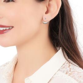 Boucles D'oreilles Zoila Plaqué Or - Boucles d'oreilles fantaisie Femme | Histoire d'Or
