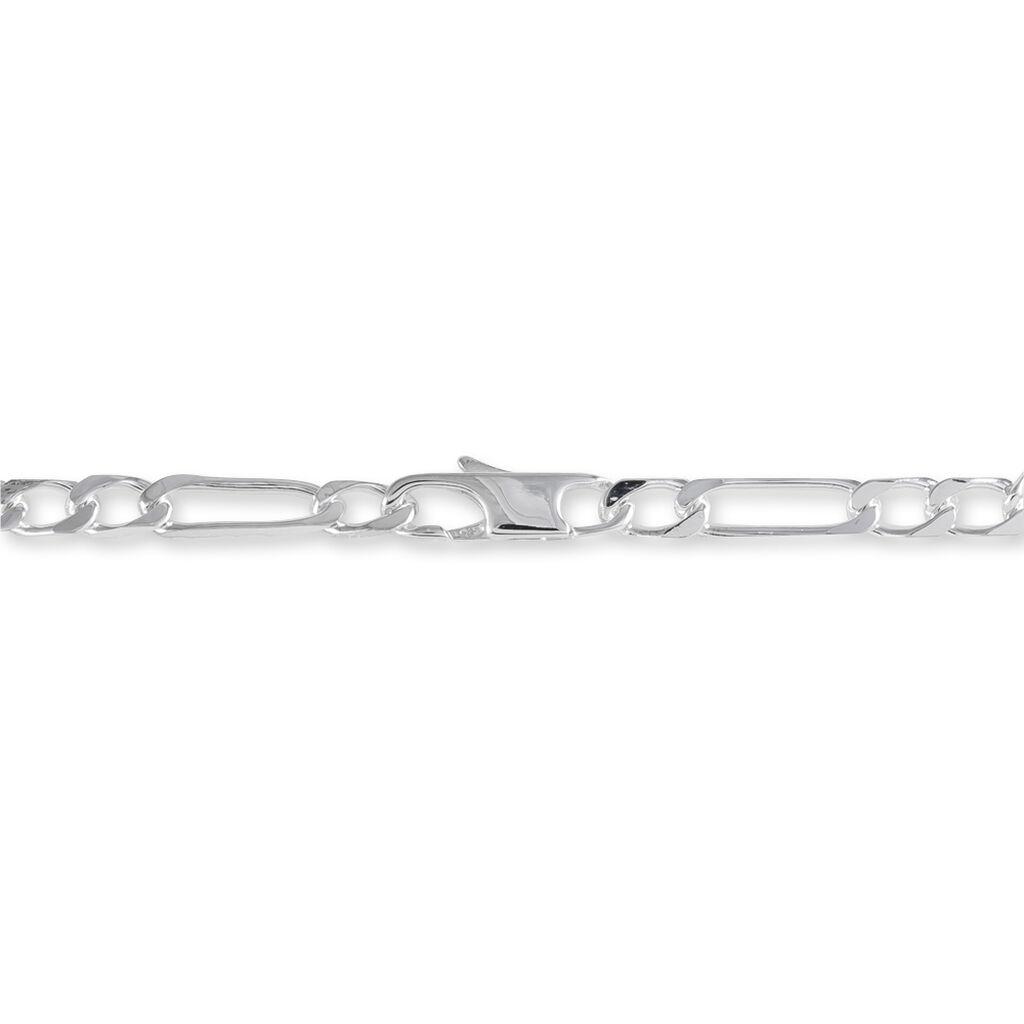 Bracelet Identité Mathea Argent Blanc - Bracelets fantaisie Femme   Histoire d'Or