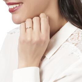Bague Solitaire Ivanka Or Rose Diamant - Bagues solitaires Femme | Histoire d'Or