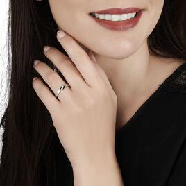 Bague Daphne Or Blanc Diamant - Bagues avec pierre Femme   Histoire d'Or