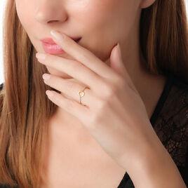 Bague Solange Or Jaune Diamant - Bagues avec pierre Femme | Histoire d'Or