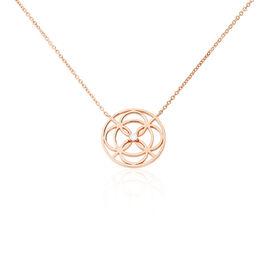 Collier Pelagia Argent Rose Oxyde De Zirconium - Colliers fantaisie Femme | Histoire d'Or